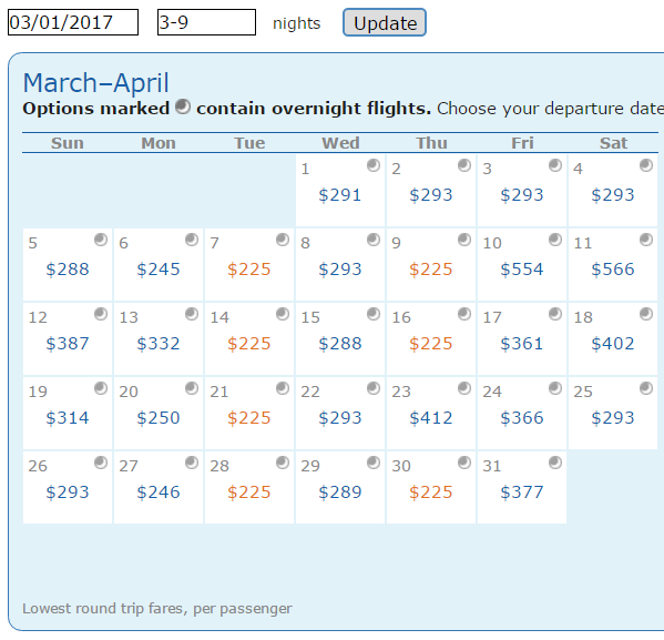 cheap flights ORD-SJD 2