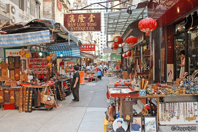 cheap flights to hong kong cat-street-market