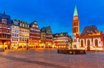cheap flights to germany-frankfurt-romerberg-old-town