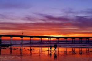 cheap flights to san diego Sunset_pier