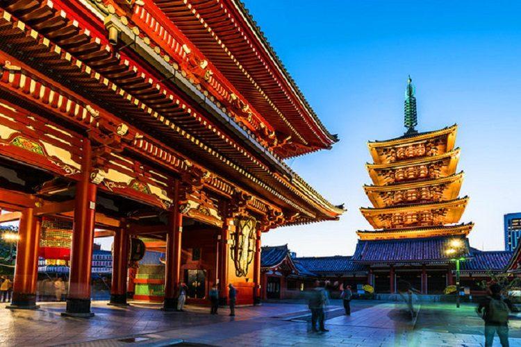 cheap flights to japan-tokyo-asakusa-senso-ji-temple