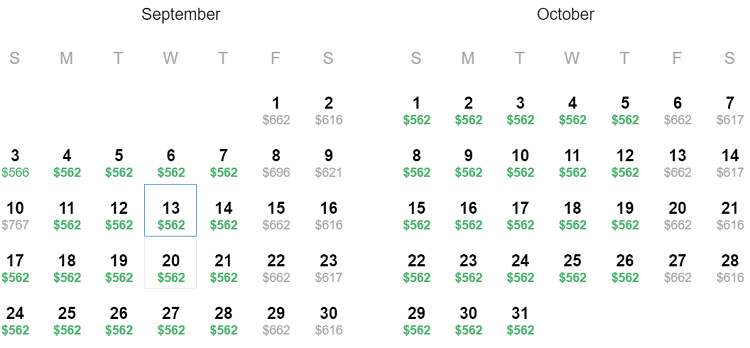 cheap flights ORD-TYO-SEP-OCT