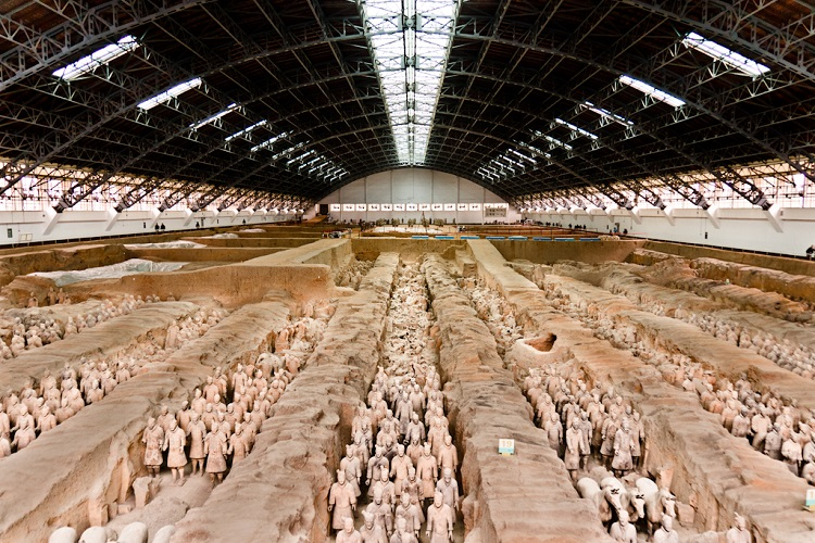 heap flights to Xian china Terracotta Army
