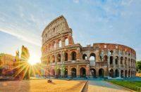 cheap flights to rome Colosseum