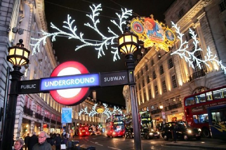 christmas-in london cheap flights