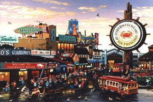 cheap flights to san francsico to see fishermans wharf