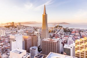 cheap flights to san francsico to see the skyline