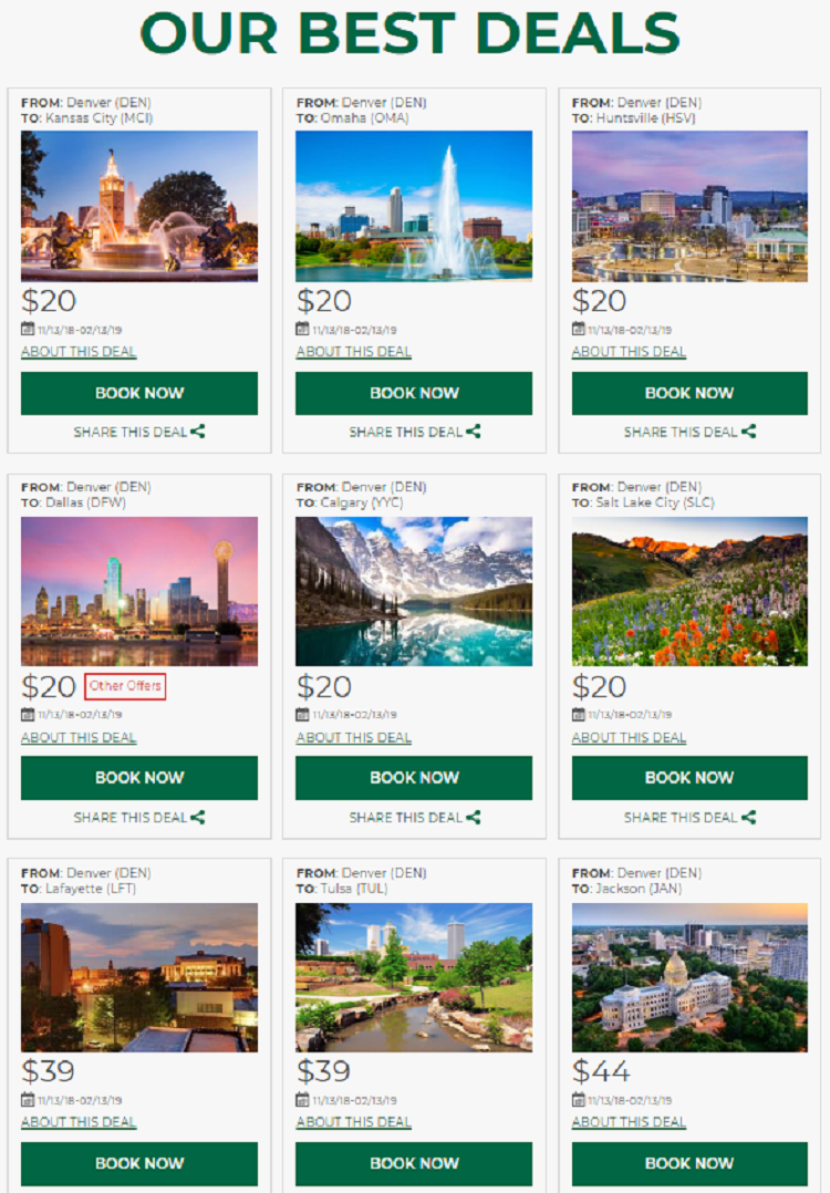 deals on frontier from denverdeals on frontier from denver