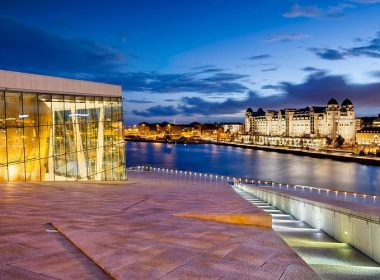 cheap flights to Oslo Opera House