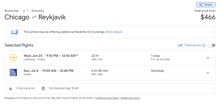 cheap flights ord-kef-june-2021