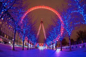 cheap flights for Christmas-in-London 3 london eye