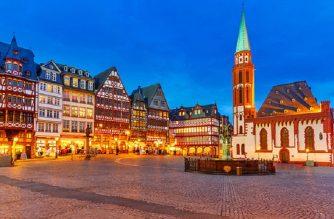 cheap flights to germany-frankfurt-romerberg-old-town