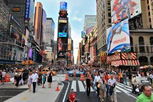 cheap flights to new york times square