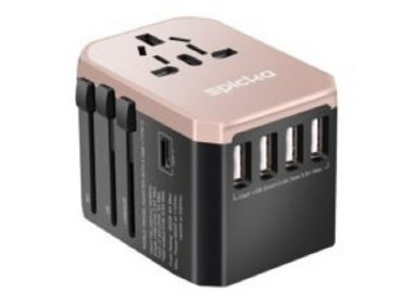 best travel adapter Epicka-Universal-Travel-Adapter-rose-gold-Travel adapter