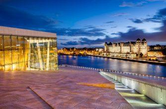 cheap flights to Oslo Opera House